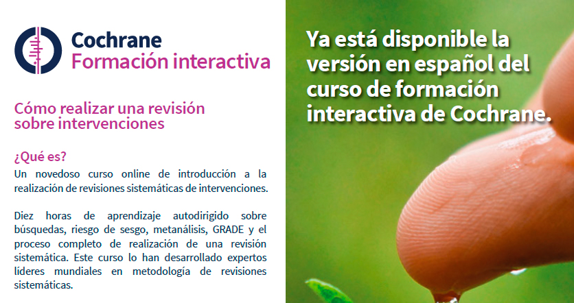 Cochrane Interactive Learning